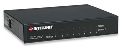 Intellinet komutatorius 8x10/100/1000 Gigabit, metalas