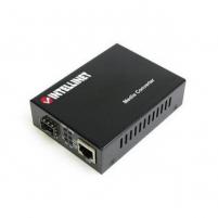 Intellinet Media Converter 10/100/1000Base-TX RJ45 / SFP Mini-GBIC slot