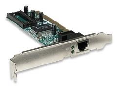 Intellinet tinklo plokštė PCI 10/100/1000 Gigabit RJ45