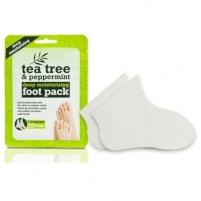 Intensyviai drėkinančios kojinės XPel Tea Tree & Peppermint 1 pora Уход за ногами