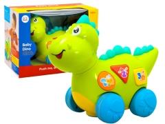 Interaktyvus šviečiantis dinozauras 12 m+ Muzikiniai žaislai