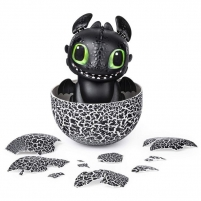 Interaktyvus žaislas 6046183 Dreamworks Dragons Hatching Toothless Interactive Baby Dragon with Sounds Interaktīvā rotaļlieta