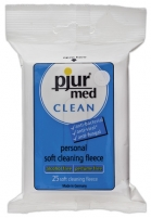 Intymios higienos servetėlės Pjur med Clean Fleece Sex for personal hygiene
