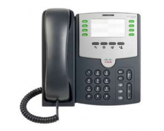 IP telefonas 8 Line IP Phone With PoE and PC Port IP telefonija
