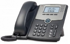 IP telefonas Cisco 4-Line IP Phone with Display, PoE and PC Port