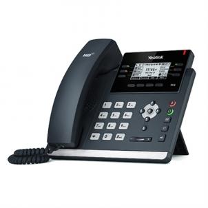 "IP telefonas Yealink SIP-T41S IP Phone, 2.7"" 192x64-pixel graphical LCD with backlight, 6 VoIP accounts IP telefonija"