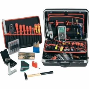Įrankių komplektas Toolcraft 85 Piece Mechatronic Toolobx