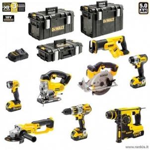 Įrankių rinkinys DeWALT DCK895P4 8 Akumuliatorinių įrankių rinkiniai