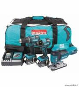 MAKITA DLX3034T įrankių rinkinys Battery tool kits