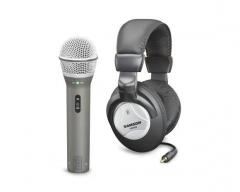 Įrašymo rinkinys SAMSON Q2U |Mikrofonas Q2U USB/XLR | Ausinės HP20 | CMC