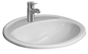 """Iš viršaus įmontuojamas praustuvas """"Ibon"""" 52x41 Wash basins"""