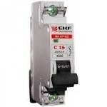Išjungiklis automatinis, 1P, C, 32A, 6kA, EKF 1334 220 v, automatic switches