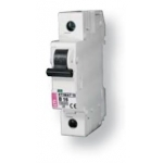 Išjungiklis automatinis, 1P, C, 63A, 6kA, ETI 02141522 220 v, automatic switches