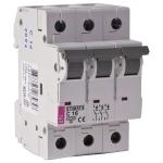 Išjungiklis automatinis, 3P, C, 40A, 6kA, ETI 02145520 220 v, automatic switches