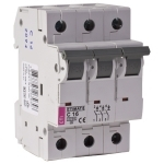 Išjungiklis automatinis, 3P, C, 50A, 6kA, ETI 02135721 220 v, automatic switches