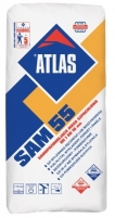 ATLAS SAM 55 - fast-setting, self-leveling surface finish 25kg