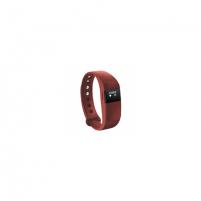 """Išmanioji apyrankė Acme Activity tracker ACT03R 0.49"""" OLED, Red, Red, Bluetooth, Built-in pedometer, Išmanieji laikrodžiai ir apyrankės"""
