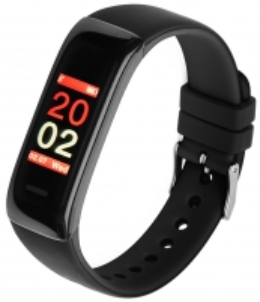 Išmanioji apyrankė Smartband, Opaska Sportowa Garett Fit 11 Black Išmanieji laikrodžiai ir apyrankės