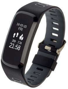 Išmanioji apyrankė Smartband, Opaska Sportowa Garett Fit 15 Gray Išmanieji laikrodžiai ir apyrankės