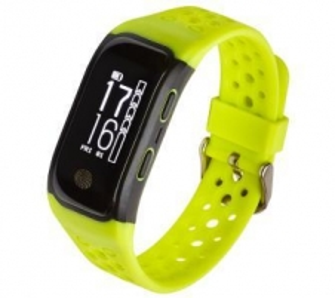 Išmanioji apyrankė Smartband, Opaska Sportowa Garett Fit 20 GPS Green