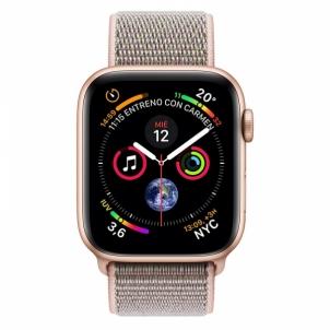 Išmanusis laikrodis Apple Watch S4 44mm Gold Alu Pink Sand Sport Loop (GSP) MU6G2TY/A Išmanieji laikrodžiai ir apyrankės