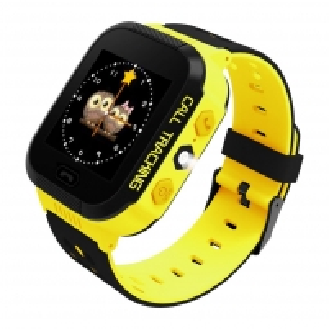 Išmanusis laikrodis ART Watch Phone Go with locater GPS - Flashlight Yellow Išmanieji laikrodžiai ir apyrankės