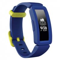Išmanusis laikrodis Fitbit Ace2 Smart Watche Touchscreen, Bluetooth, Night Sky / Neon Yellow, Waterproof, 50 m Išmanieji laikrodžiai ir apyrankės