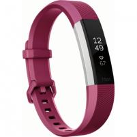 Išmanusis laikrodis Fitbit Alta HR Small FB408SGYS-EU OLED, Warranty 24 month(s), Touchscreen, Bluetooth, Yes, Heart rate monitor, Fuchsia, Išmanieji laikrodžiai ir apyrankės