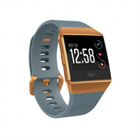 Išmanusis laikrodis Fitbit Ionic Colour LCD, 320 g, Touchscreen, Bluetooth, Heart rate monitor, Slate Blue/Burnt Orange, GPS (satellite) Išmanieji laikrodžiai ir apyrankės