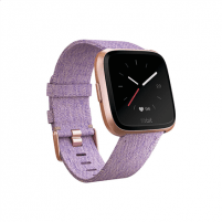 Išmanusis laikrodis Fitbit Versa (NFC) smartwatch Color LCD, Touchscreen, Bluetooth, Heart rate monitor, Special Edition Lavender Woven Išmanieji laikrodžiai ir apyrankės
