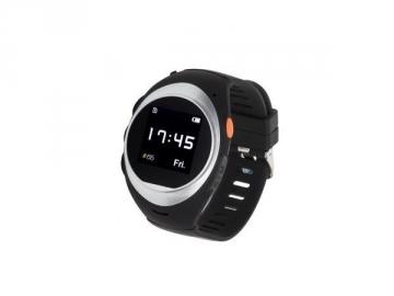 Išmanusis laikrodis Garett GPS2, juodai sidabrinis