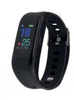 Išmanusis laikrodis Medisana ViFit Touch Activity Tracker With Bluetooth black 79492