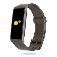 Išmanusis laikrodis MyKronoz Smartwatch Zefit4 Activity tracker with smart notifications, Brown, 80 mAh, Touchscreen, Bluetooth, Išmanieji laikrodžiai ir apyrankės