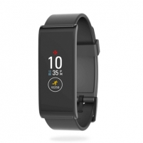 Išmanusis laikrodis MyKronoz Smartwatch Zefit4 Black/Black, Activity tracker with smart notifications, 80 mAh, Touchscreen, Bluetooth, Išmanieji laikrodžiai ir apyrankės