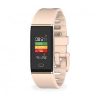 Išmanusis laikrodis MyKronoz Smartwatch Zetrack Powder pink, 90 mAh, Touchscreen, Bluetooth, Heart rate monitor, Waterproof, IP67 m Išmanieji laikrodžiai ir apyrankės