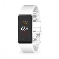Išmanusis laikrodis MyKronoz Smartwatch Zetrack White/ silver, 90 mAh, Touchscreen, Bluetooth, Heart rate monitor, Waterproof, IP67 m Išmanieji laikrodžiai ir apyrankės