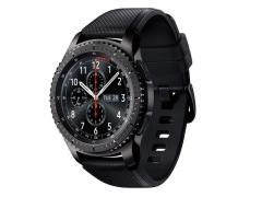 Išmanusis laikrodis Samsung R760 Gear S3 Frontier space grey Išmanieji laikrodžiai ir apyrankės