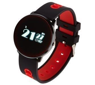 Išmanusis laikrodis Smartwatch , Zegarek Sportowy Garett Sport 14 Czarno - Czerwony