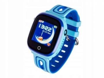 Išmanusis laikrodis Smartwatch, Garett Kids Happy Niebieski