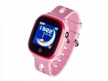 Išmanusis laikrodis Smartwatch, Garett Kids Happy Pink Išmanieji laikrodžiai ir apyrankės