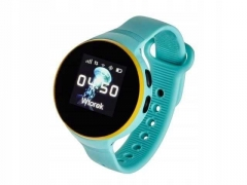 Išmanusis laikrodis Smartwatch, Garett Kids Smile Niebieski