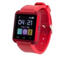 Išmanusis laikrodis Smartwatch, Zegarek Garett Smart, czerwony