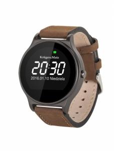 Išmanusis laikrodis Smartwatch Kruger&Matz Style brown Išmanieji laikrodžiai ir apyrankės