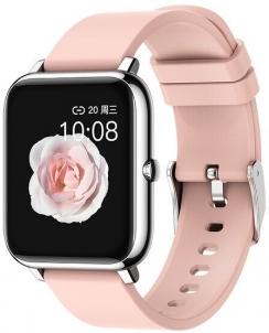 Išmanusis laikrodis Wotchi Smartwatch W02P - Pink Išmanieji laikrodžiai ir apyrankės