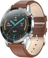 Išmanusis laikrodis Wotchi Smartwatch WT34BL - Brown Leather Išmanieji laikrodžiai ir apyrankės