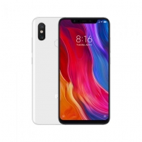 Išmanusis telefonas Xiaomi Mi 8 128GB White BAL Mobilūs telefonai