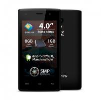 "Smart phone Allview A5 Ready Back, 4 "", TFT LCD, 480 x 800 pixels, Cortex-A7, Internal RAM 1 GB, 8 GB, Dual SIM, Micro SIM, 3G, Main camera 5 MP, Secondary camera 0.3 MP, Android, 5.1, 1400 mAh Mobile phones"