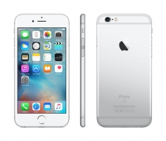 Išmanusis telefonas Apple iPhone 6s 16GB Silver Refurbished Mobilūs telefonai