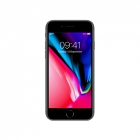 "Smart phone Apple iPhone 8 Space Grey, 4.7 "", LED-backlit IPS LCD, 750 x 1334 pixels, Apple, A11 Bionic, Internal RAM 2 GB, 64 GB, Single SIM, Nano-SIM, 3G, 4G, Main camera 12 MP, Second camera 7 MP, iOS, 11, 1821 mAh, Warranty 12 month(s) Mobile phones"