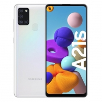 Smart phone Galaxy A21S 32GB white Mobile phones